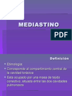 Mediastino y Diafragma