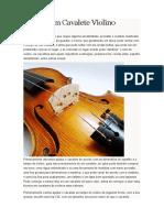 Regulagem Cavalete Violino