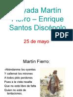 Payada Martín Fierro – Enrique Santos Discépolo