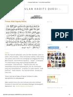 Terjemah 40 Hadits Qudsi Pdf