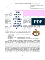 Wau Bulan is a Symbol of the Unique Heritage