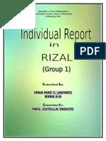 Rizal Handout