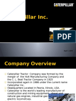 Caterpillar Presentation Firm Analysis