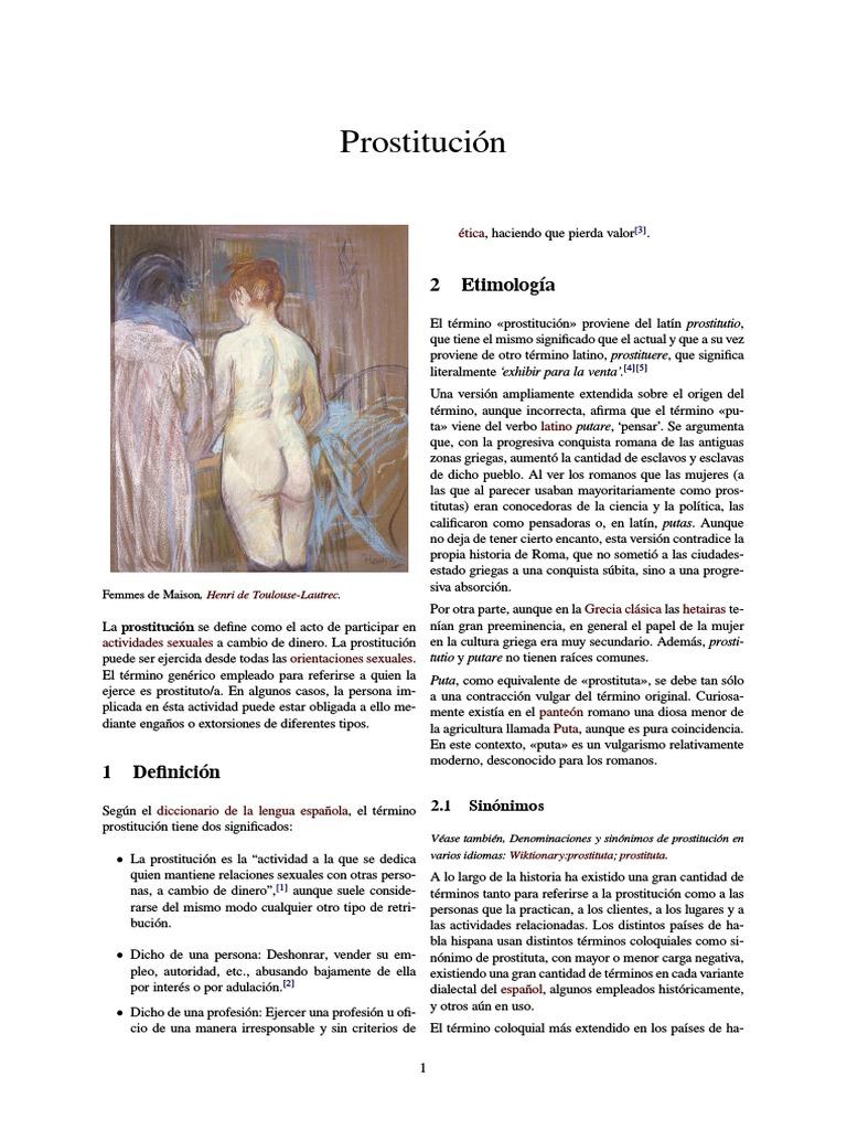 prostitución sinonimos de consentido