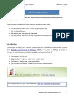 Modulo 1 Competencia de Recepción Escrita