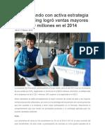 San Fernando Con Activa Estrategia de Marketing Logró Ventas Mayores a S[1]