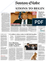 Boston Globe President Trump