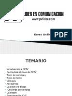 Curso de CCTV  Análogo