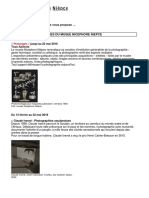 Actualités du Musée Nicéphore Niépce Mai Juin 2016