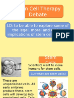 b1 stem cells debate