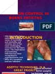 Infection Control in Burns Patietns