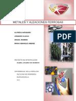Metales y Aleaciones Ferrosas Grupo 2