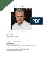 2016-04-09 ¿Quién es Enrique Serrano