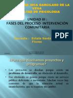 Intervención Social Comunitaria