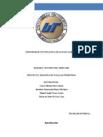 Trabajos-De-Investigación Estudio Del Mercado