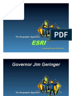 The Geographic Approach - ESRI - Homeland Security GIS Summit