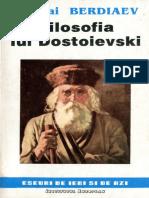 Nikolai Berdiaev - Filosofia Lui Dostoievski