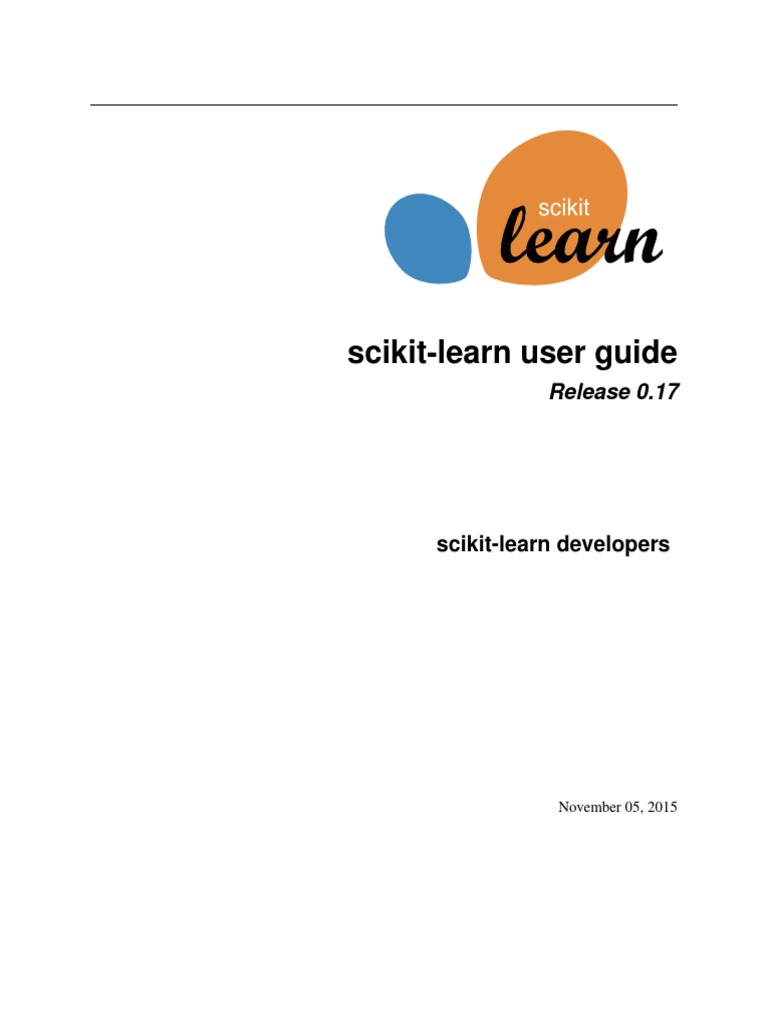 Scikit Learn Docs