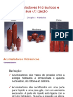 Acumuladores hidráulicos
