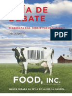 Food Inc - Discussion Guide - Spanish