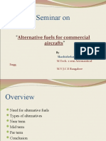 Alternative Fuels for Commercial Aircraft