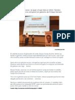2016-04-09 Quien roba un peso, es igual, al que roba un millón- Serrano Cero tolerancia a la corrupción en gobierno de Enrique Serrano