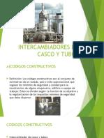 INTERCAMBIADORES DE CASCO Y TUBO CON SU CLASIFICACION