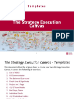 The Institute for Strategy Execution–Strategy Execution Canvas