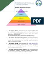 Piramide de Necesidades Basicas