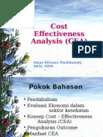 6. Cost Effectiveness Analysis