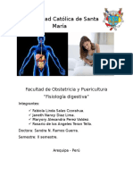 Fisiologia Digestiva - Obstetricia y Puericultura