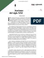 La Jornada_ Autoritarismo Del Siglo XXI