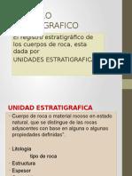 Registro Estratigrafico V