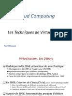 Les Techniques de Virtualisation
