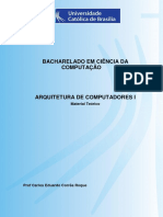 BCC ArquiteturaComputadoresI