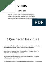 Clasificacion Virus ,Bacterias y Hongos