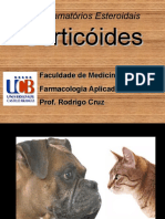 Aula Antiinflamatorios Esteroidais