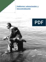 Cap. 3.3. Gobiernos Subnacionales y Descentralización