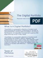 portfolio version the digital portfolio