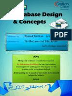 Ahmed Ali [Database Design & Concepts]