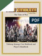 Fire Emblem the Tides of War v2Fates