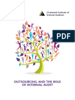 Outsourcing and the Role of Internal Audit FINAL