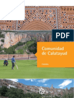 Balnearios Folleto Turistico COMARCA Calatayud