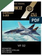 F-14 VF-32 ALBASTRU