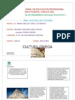 Linea Del Tiempo EPOCA GRIEGA Y ROMANA
