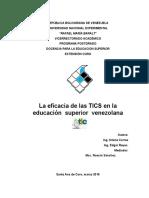 la Eficacia del TIC. el ensayo.docx