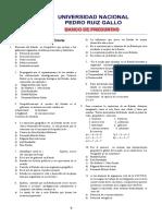 Banco Geopolitica e Historia - Unprg