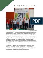 2016-04-08 Invita PRI a _Reto 21 días por mi salud_