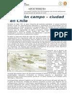 GUÍA DE TRABAJO N°2 - Urbanización en Chile