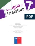 Libro Estudiante lenguaje 7 basico